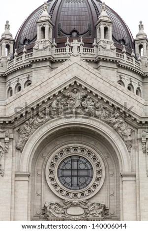 Cathedral of Saint Paul, MN - Minnesota, USA - stock photo