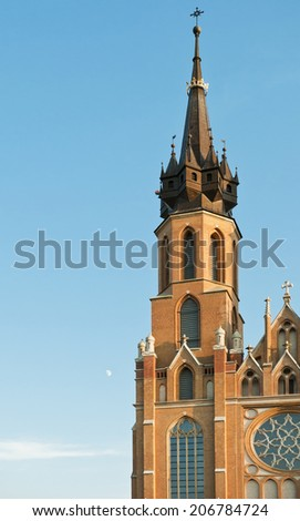Cathedral of The Blessed Virgin Mary in Radom, Poland.