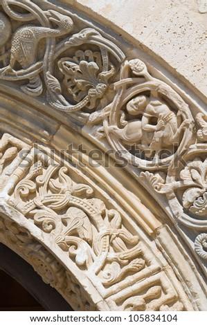 Cathedral of Trani. Puglia. Italy. - stock photo