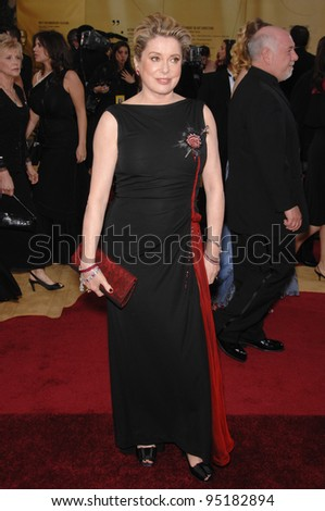 Catherine Deneuve at the 79th Annual Academy Awards at the Kodak Theatre, Hollywood. February 26, 2007  Los Angeles, CA Picture: Paul Smith / Featureflash