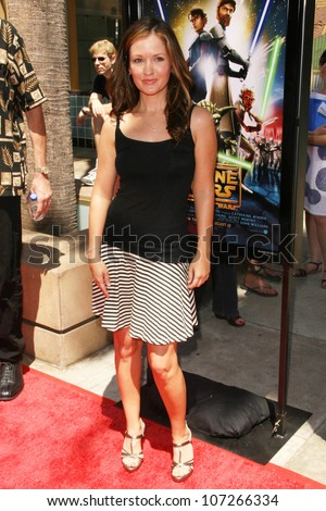 Catherine Taber  at the U.S. Premiere of 'Star Wars The Clone Wars'. Egyptian Theatre, Hollywood, CA. 08-10-08