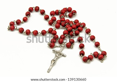 Catholic Rosary - stock photo