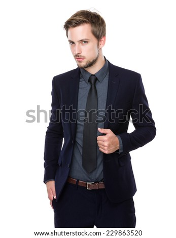 Caucasian Business man portrait