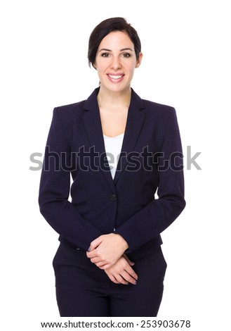 Caucasian Businesswoman - stock photo