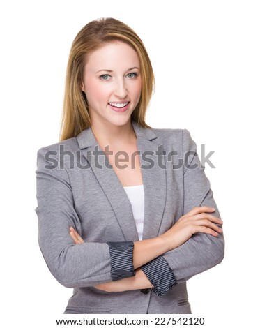 Caucasian businesswoman portrait