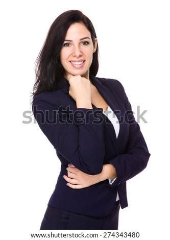 Caucasian businesswoman portrait - stock photo