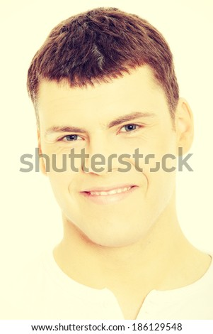 Caucasian casual man portrait  - stock photo
