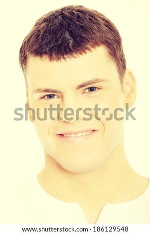 Caucasian casual man portrait  - stock photo