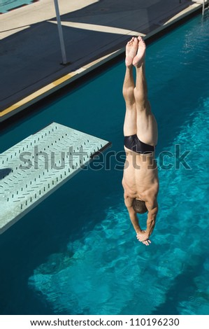 Diving Pool Stock Photos Images Pictures Shutterstock