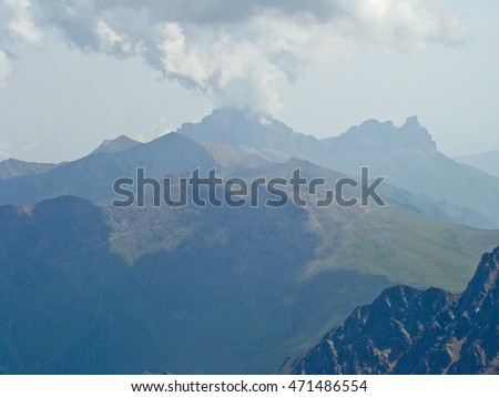 Caucasian mountains