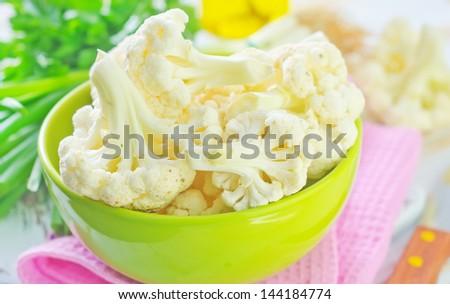 Cauliflower cabbage - stock photo