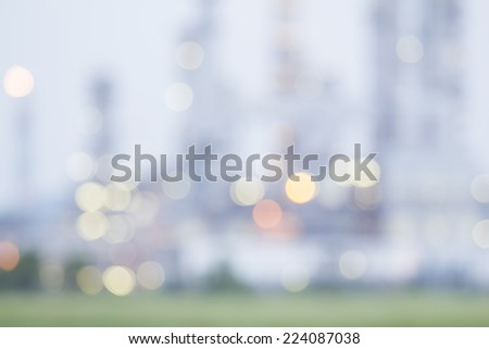 Caused by the rotating lens out of focus bokeh for background - stock photo