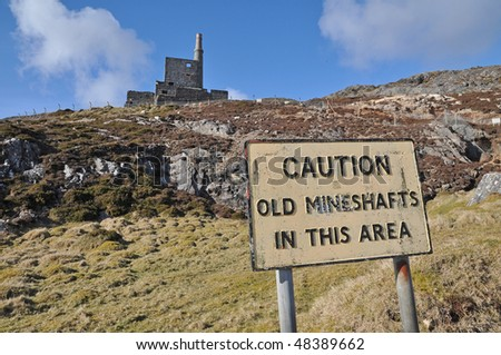 caution - stock photo