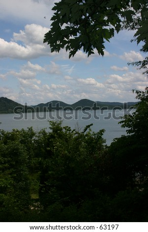 Cave Run Lake - stock photo