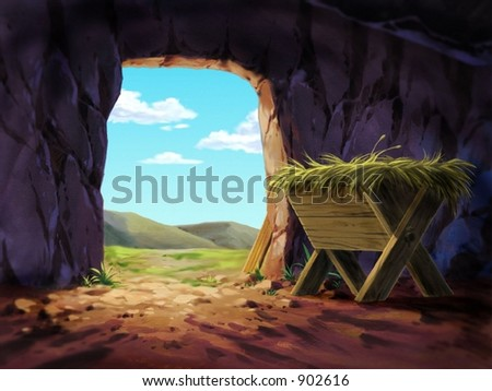 Cave with Hay