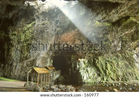 Cave World - stock photo