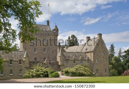 Cawdor Castle, Scotland - stock photo