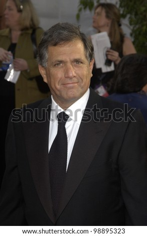 CBS boss LESLIE MOONVES at the 61st Annual Golden Globe Awards at the Beverly Hilton Hotel, Beverly Hills, CA. January 25, 2004