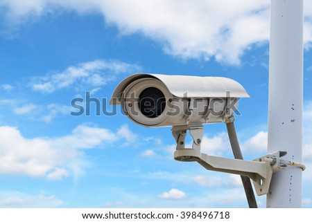CCTV recording important events and a guard house and property.