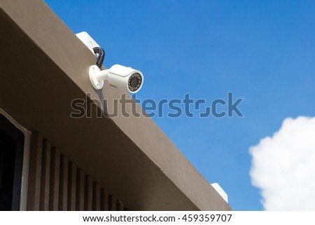 CCTV recording, Security camera for security protection