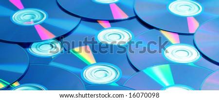 CD - stock photo