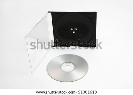 CD and plastic case