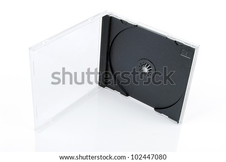 CD case - stock photo