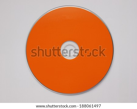 CD or DVD for music data video recording