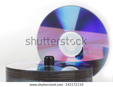 cd-rom - stock photo