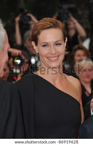 Cecile de France  at the 64th Festival de Cannes awards gala. May 22, 2011  Cannes, France Picture: Paul Smith / Featureflash