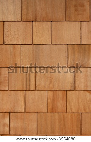 Cedar Shingles Background