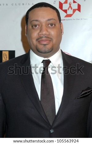 Cedric Yarbrough at the 2009 Valentines Day Gala 'Love Conquers H8'. Montage Hotel, Beverly Hills, CA. 02-14-09