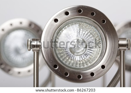 Ceiling light with LED Light - stock photo