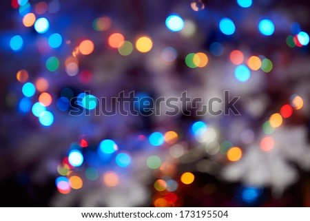 Celebration blurred background - stock photo