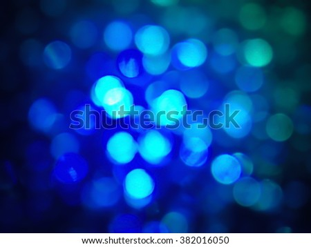Celebration Glowing Circles , Defocused bokeh background
