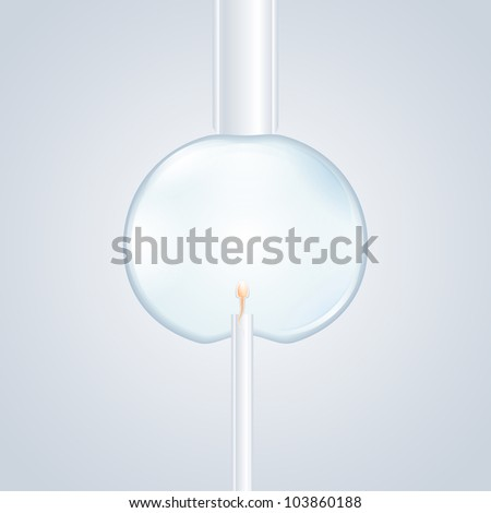 cell manipulation - stock photo