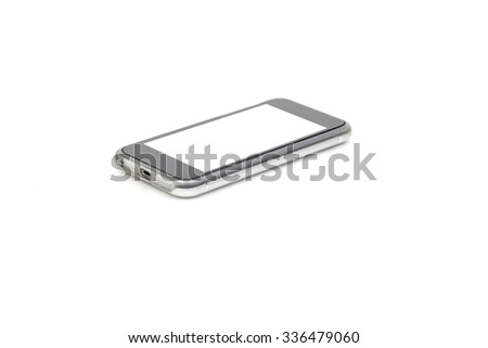Cell Phone Business isolated on white