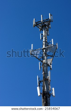 cell transmission tower