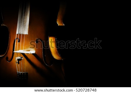 Cello musical instruments of orchestra close up Violoncello isolated on black closeup