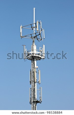 Cellular phone tower