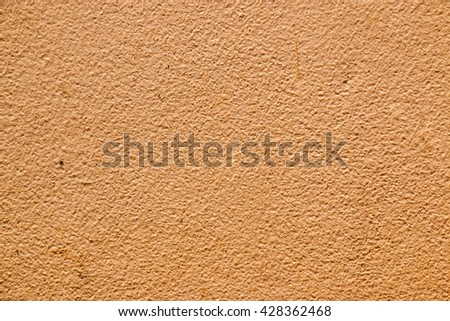 Cement Background, brown color - stock photo