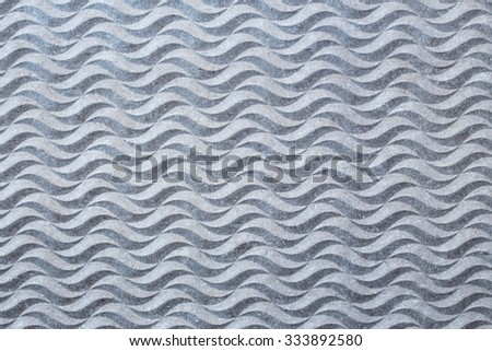 Cement background with wavy texture - stock photo