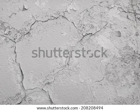 cement cracked floor texture for background. - stock photo