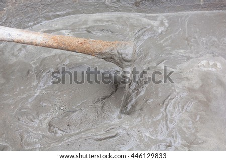 Cement mix for construction