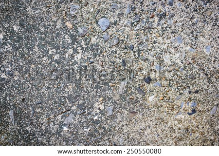cement mix stone texture background - stock photo