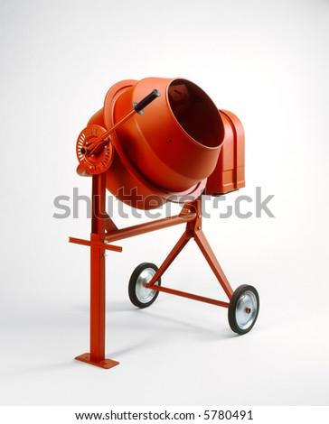 Cement Mixer - stock photo