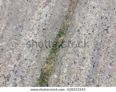Cement small stone floor texture background