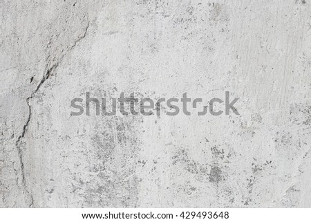 Cement  wall background with white and gray plaster
