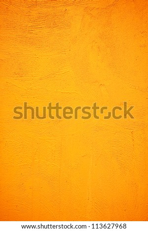 cement yellow background - stock photo