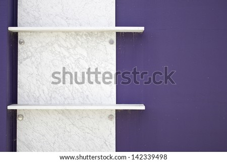 Cemetery headstones marble modern bright and new, construction and architecture - stock photo